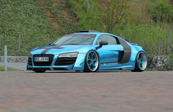 Audi R8 On Forgiato GTR Wheels 2
