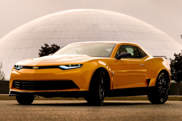 2014 Camaro Bumblebee Concept from Transformers 4