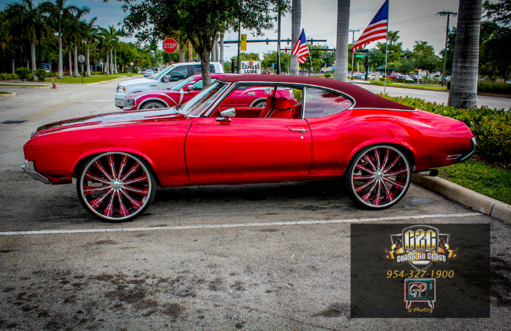 Candy Paint Cars In Miami