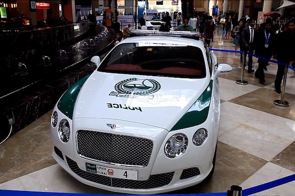 Supercars of the Dubai Police Department