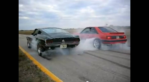 Father and Son Burnout