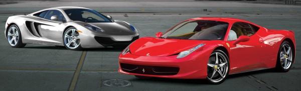 Ferrari 458 Spider vs McLaren 12C Spider 2