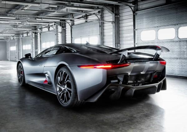 Jaguar C-X75  Hybrid Supercar  3