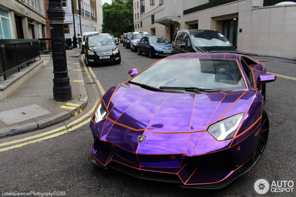 Lamborghini Aventador Naseer Al Thani 3 Muscle Cars Zone