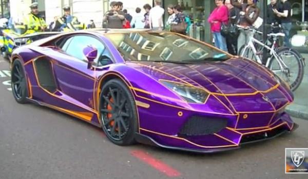Lamborghini Aventador Naseer Al-Thani