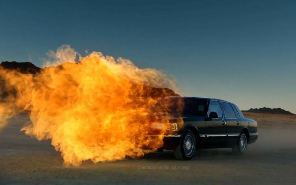 Lincoln Town Car SB47 flamethrower