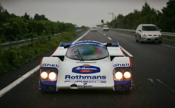 Porsche 962c prowls the streets 2