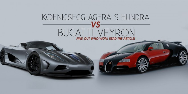 bugatti veyron vs koenigsegg agera s hundra video muscle cars zone. Black Bedroom Furniture Sets. Home Design Ideas