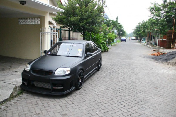 hyundai accent customized 2