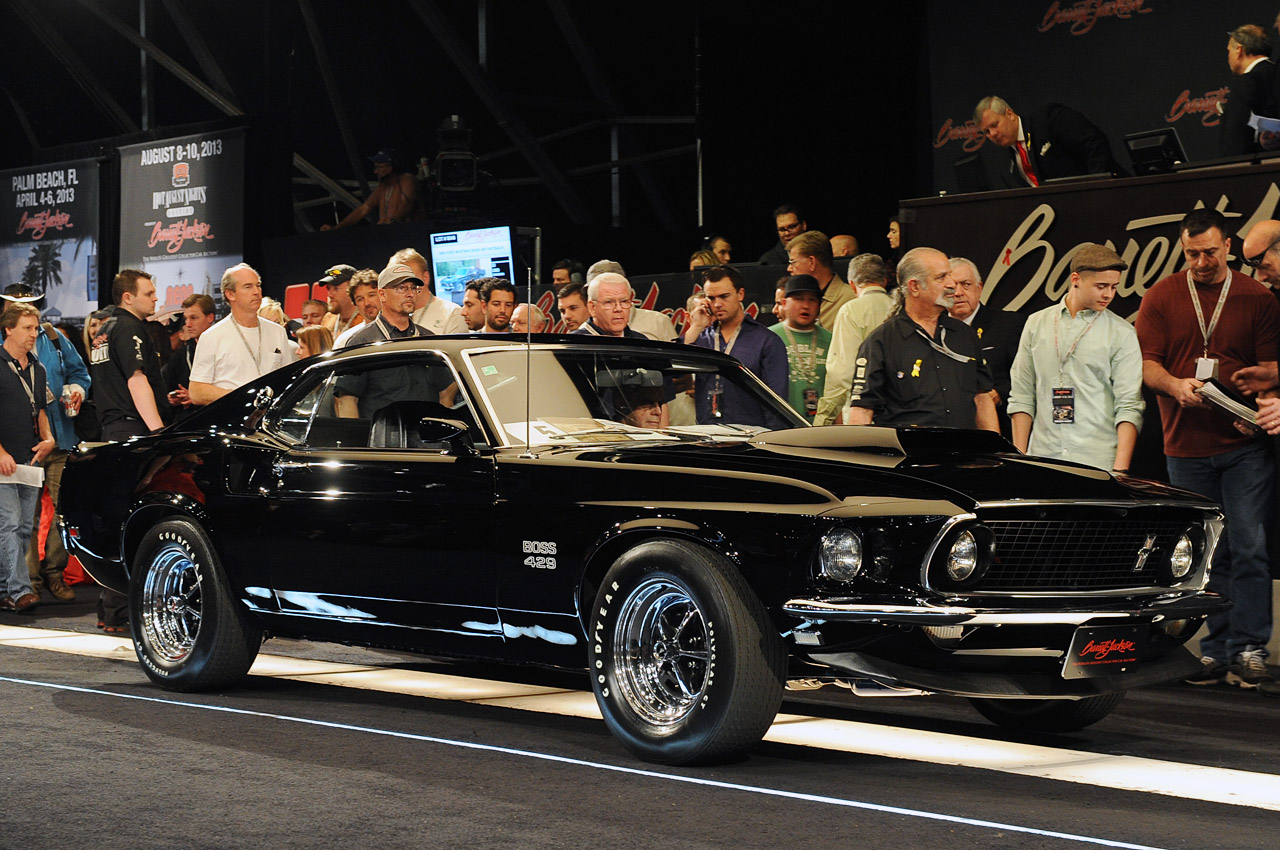 The 429 Ford Mustang Boss 1969 Sells For 275 000