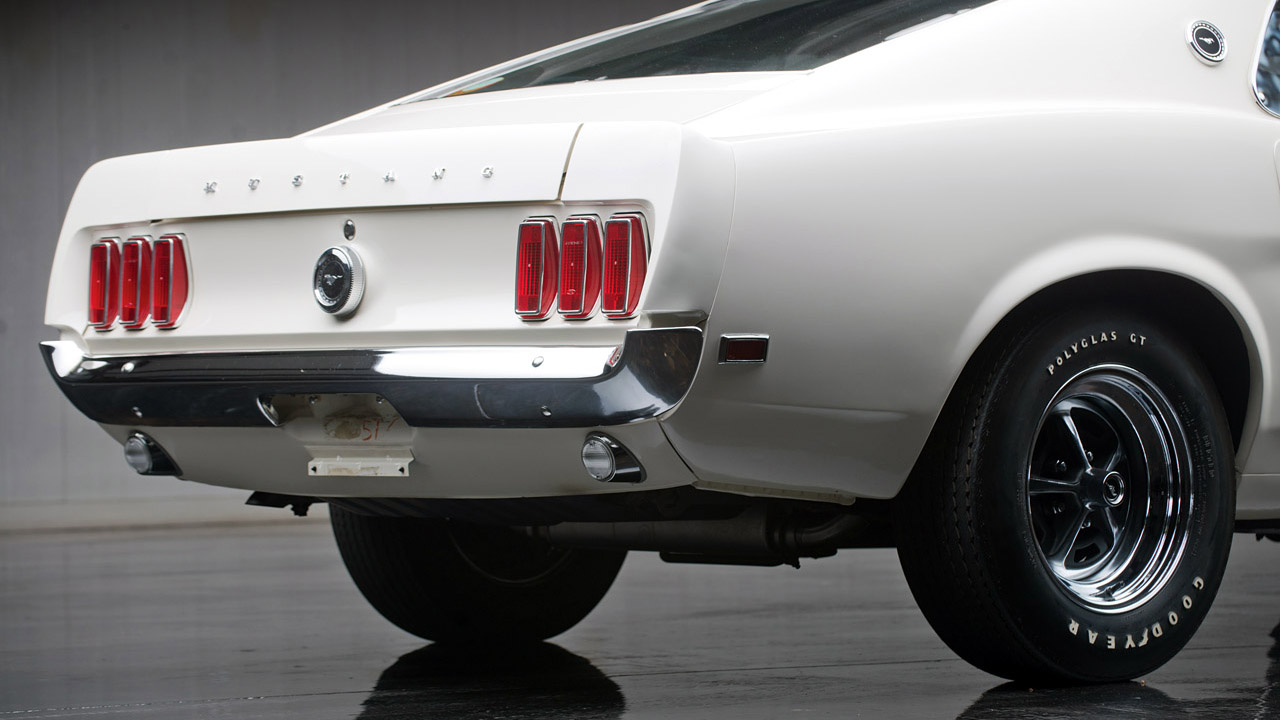Lowest Mileage Ford Mustang Boss 429 In Existence 1969 Going Up For Auction