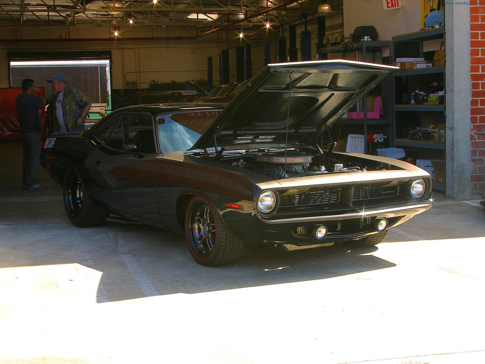 1970 Plymouth Cuda Front Angle Fast Furious 6 Car Muscle