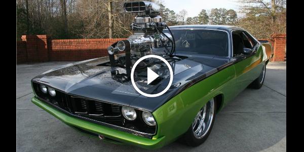 "2015 Dodge Barracuda >> Fast And Furious Cuda Called ""The Frankencuda""! Pure American Muscle - 1971 Plymouth Barracuda ..."
