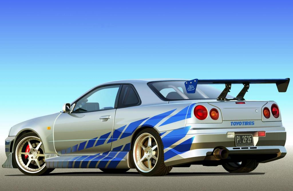 2-fast-2-furious-1999-nissan-skyline-gt-r - muscle cars zone!