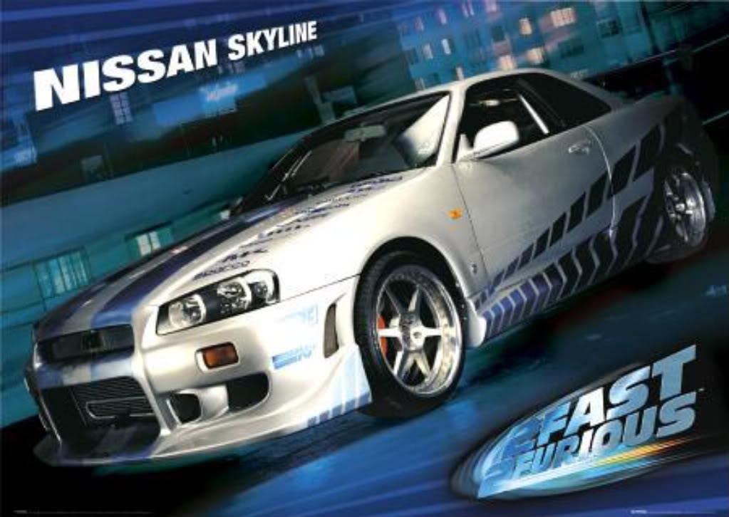 1999 nissan skyline gt r from 2 fast 2 furious sold for 75 000 muscle cars zone. Black Bedroom Furniture Sets. Home Design Ideas