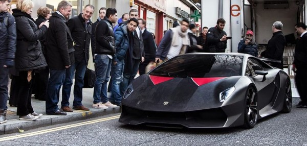 Lamborghini Sesto Elemento in London