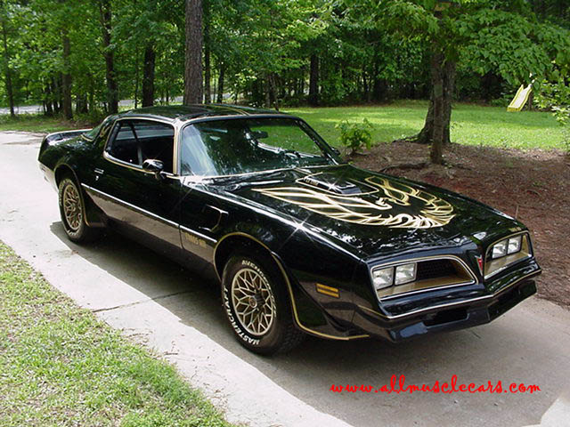 1977 Pontiac Trans Am From Smokey And The Bandit