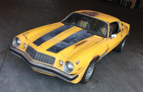 2012 Chevrolet Camaro SS Transformers