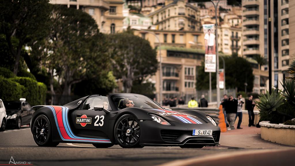 porsche 918 spyder in monaco muscle cars zone. Black Bedroom Furniture Sets. Home Design Ideas