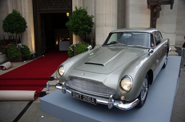 james Bond Aston Martin centenary