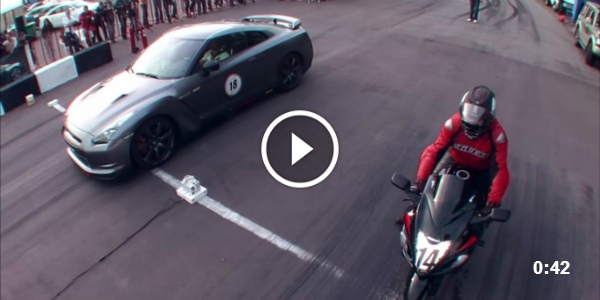 GTR Switzer Bike VS Car