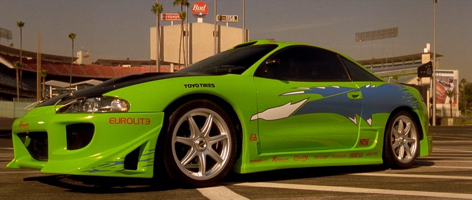 Mitsubishi Eclipse from Fast and the Furious - Muscle Cars ...