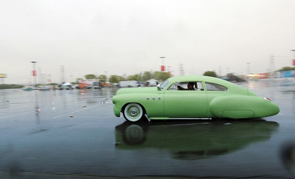 green 1949 Buick 5