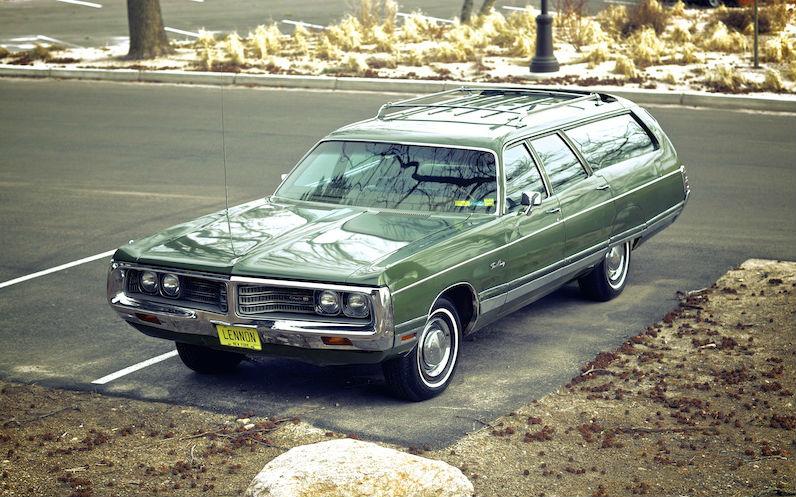 john lennon Chrysler Station Wagon