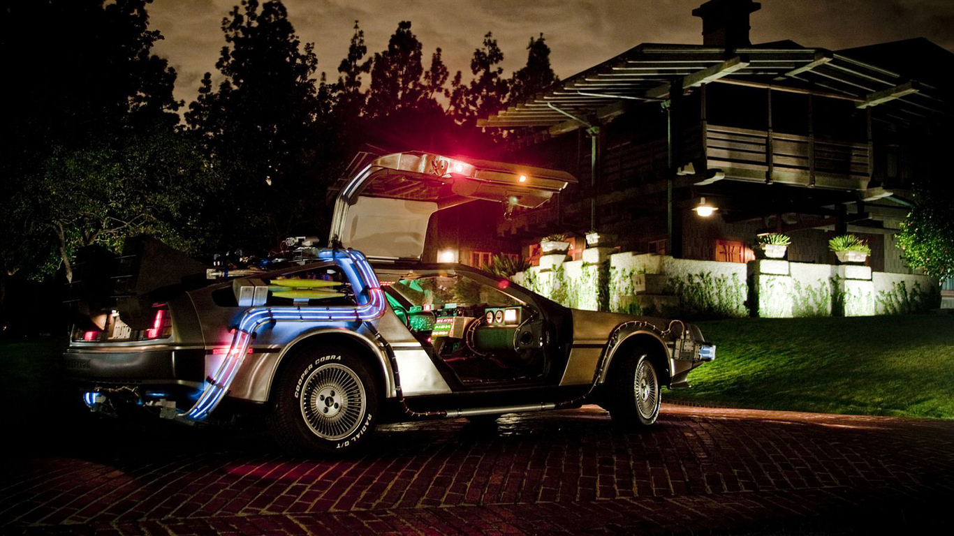 Delorean Dmc 12 Back To The Future 2 Muscle Cars Zone