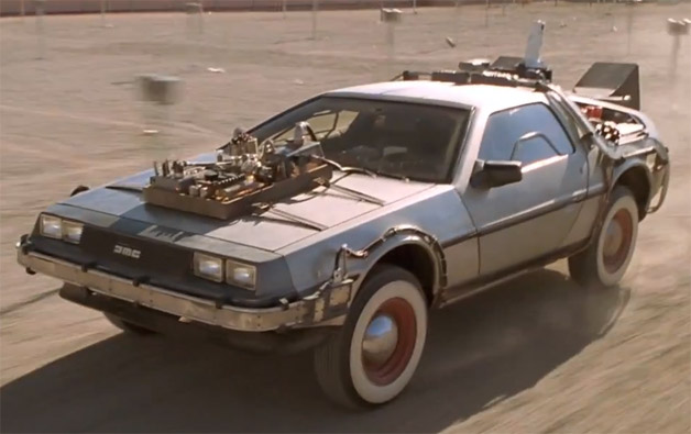 1981 delorean dmc 12 from back to the future muscle cars zone. Black Bedroom Furniture Sets. Home Design Ideas