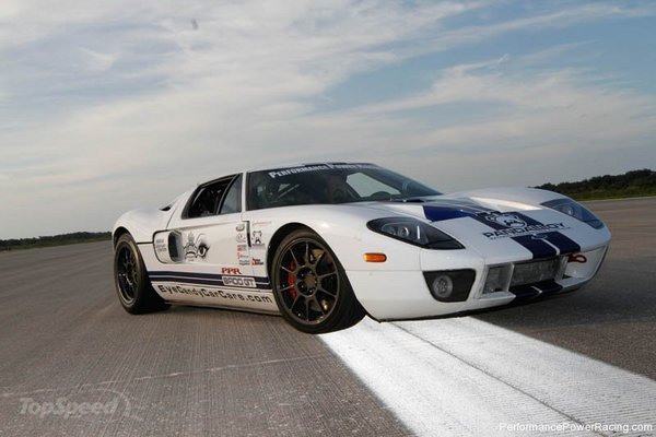 Ford Gt Bad V8 1700 Hp Is The New World S Fastest Car