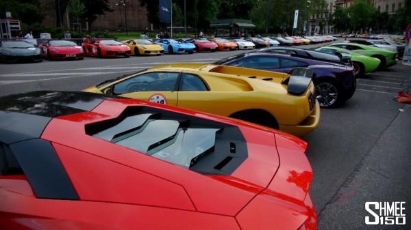 350 Lamborghinis