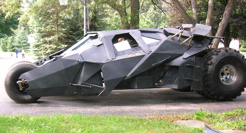 Batmobile Kids Sports Car