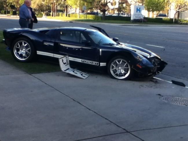 Ford Gt Crash  Ford Gt Crash