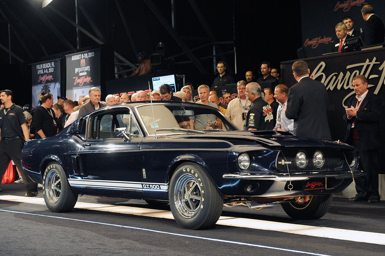 Original Low Mileage 67 Mustang Shelby Gt500
