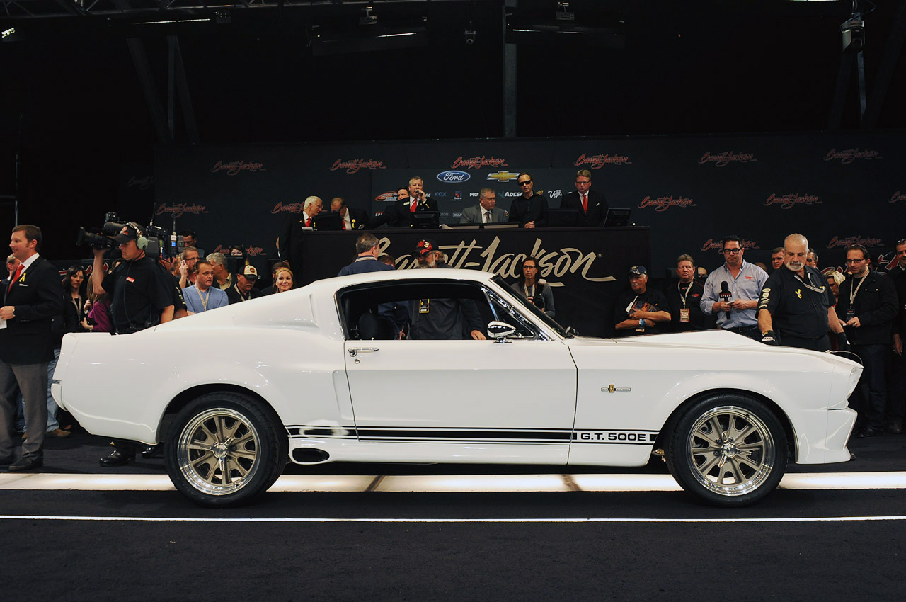 1967 Shelby GT500E Mustang Snake | Muscle Cars Zone!