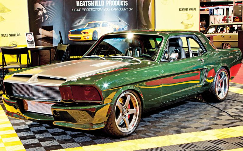 """675 hp 1966 Ford Mustang Coupe """"Jaded""""!"""