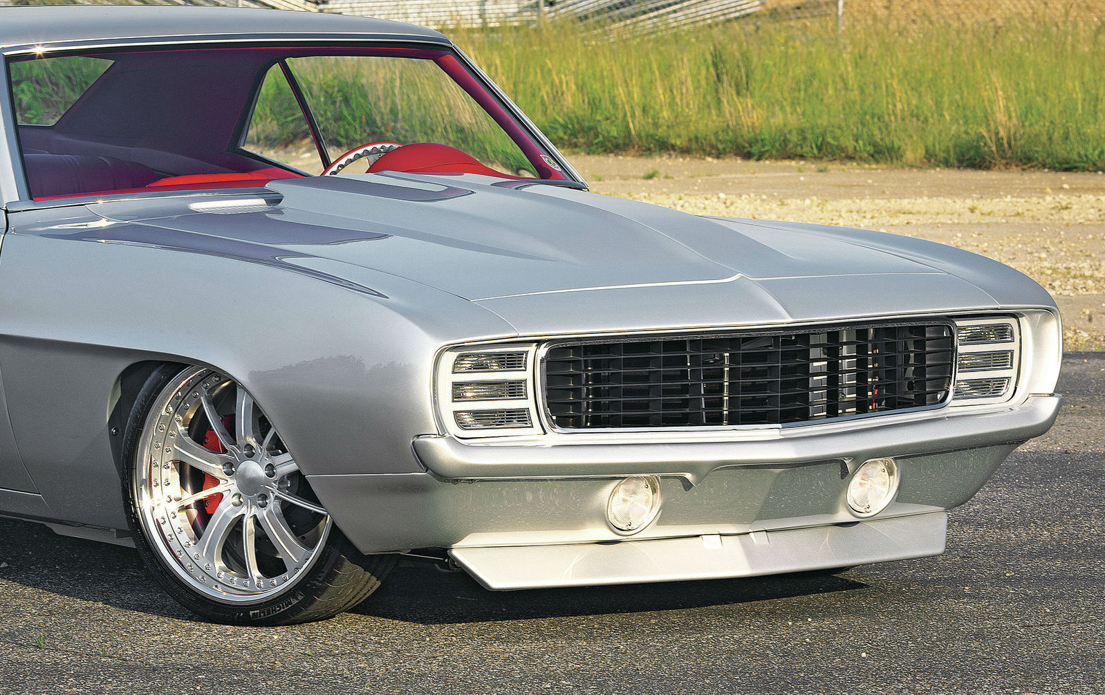 1969 Dupont Chevy Camaro Silver Smooth Like Silk