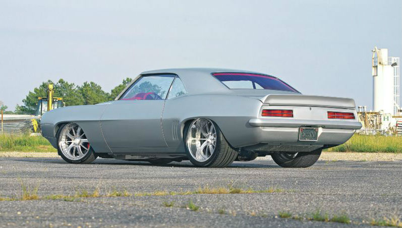 1969 Dupont Chevy Camaro Silver Smooth Like Silk