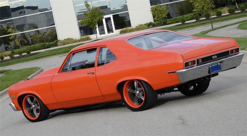 1000 Hp 1972 Chevy Nova Custom 2 Door Coupe