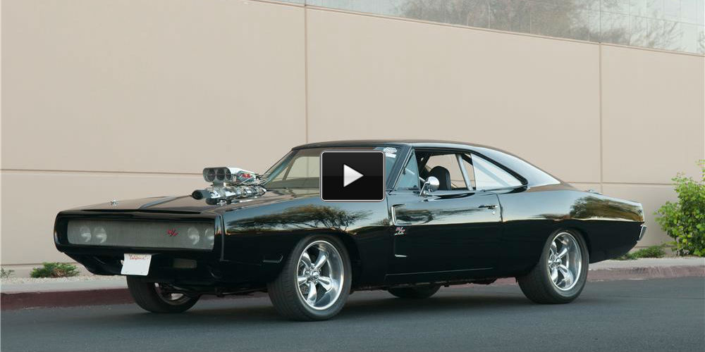 Vin Diesel S Dodge Charger Simply Amazing Video Muscle
