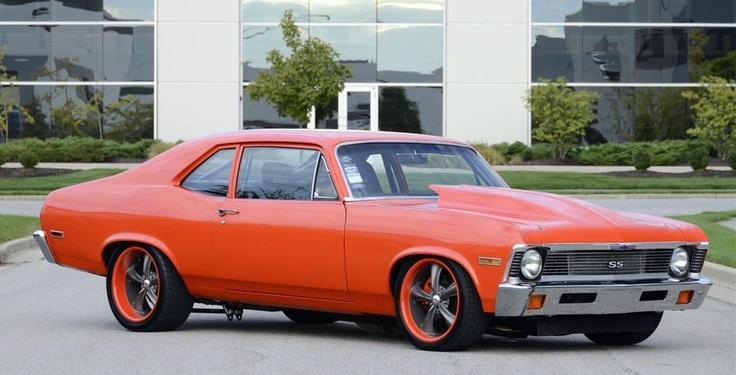 Chevrolet Nova Custom Door Coupe