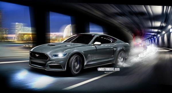 2015 Mustang GT Render (Gray) - Mustang6G