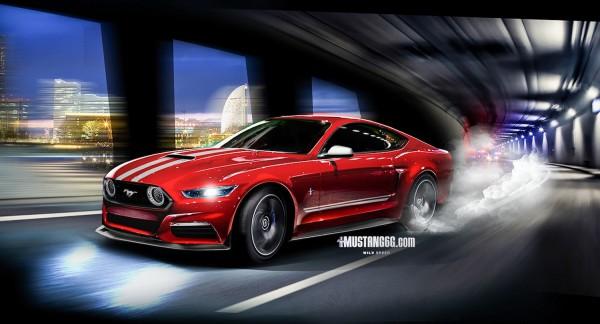 2015 Mustang GT350 Render (Red) - Mustang6G