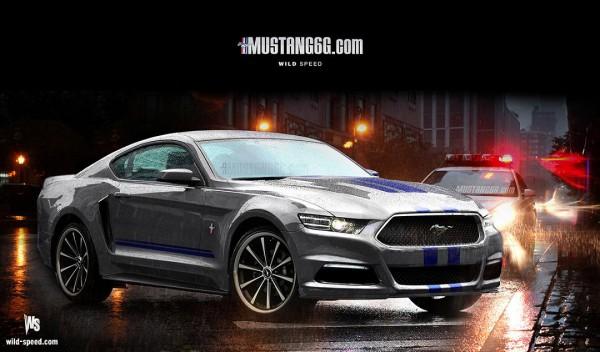 2015 Mustang Render (Silver) - Mustang6G