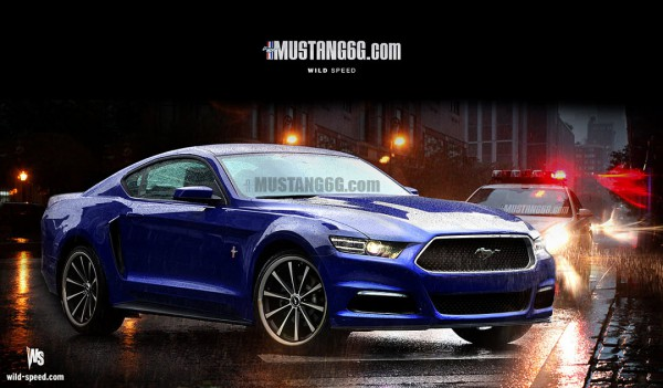 2015 Mustang Render1 (Blue) - Mustang6G