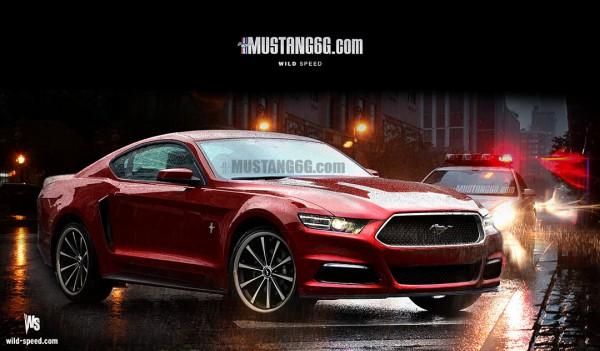 2015 Mustang Render1 (Red) - Mustang6G
