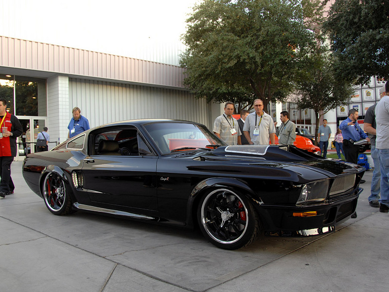 Twin Supercharged Mustang Couper Obsidian Sg One Muscle