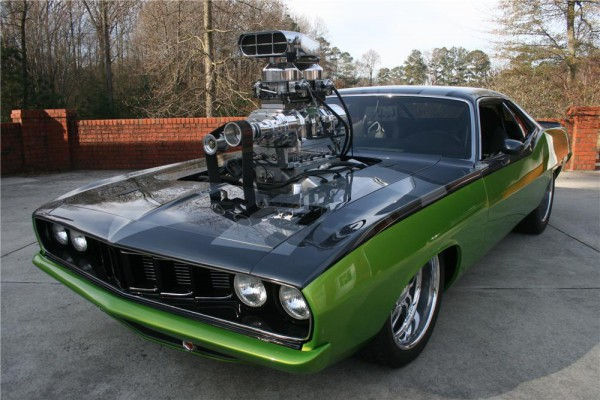 1971 Plymouth Barracuda from Furious 5 at Barrett-Jackson c