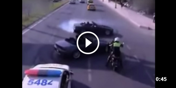 CRAZY Drifting in Front of Turkish Police!